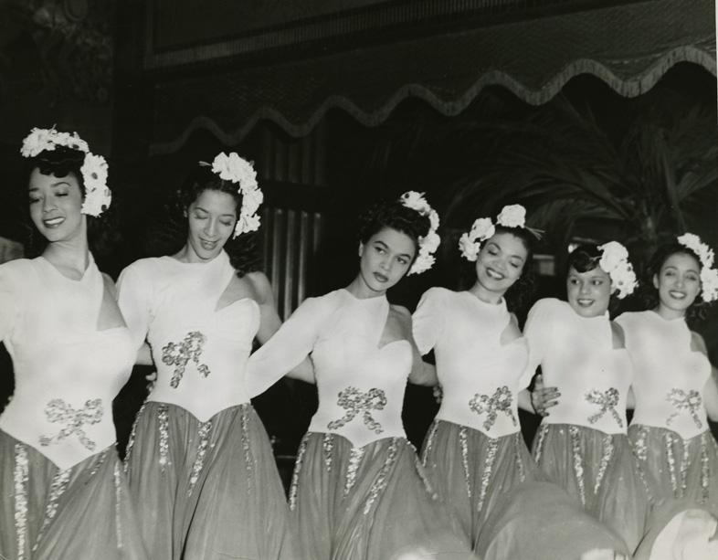 The Zanzibeauts — Alice is third from the left.